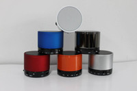 Wholesale S10 Wireless Bluetooth Mini Portable Speaker Handfree Subwoofer Speaker For iphone s c s HTC Samsung Phone MP3 HiFi MIC TF Card