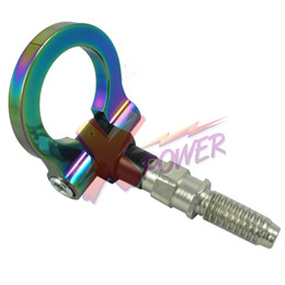 Wholesale Xpower Universal CNC RACING T2 TOW HOOK NEO CHROME FOR BMW M E46 E81 E30 E36 E90 E91 E92E93 SERIES