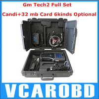 Wholesale GM TECH2 scanner support software Full set diagnostic tool Vetronix gm tech with candi interface Full set With black case from YOGA