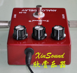 Wholesale XinSound Pro DL B True Bypass ms Vintage Analog Delay Pedal and TRUE BBD CIRCUIT