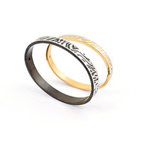 2014 hot sale Korean couple bracelet, titanium steel bracele...