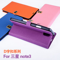 For Samsung PU Leather GNC3009 Flip Cover Wallet Leather Cases with Stand Holder Credit Card PU Pouch Money Slots Case Cover for Samsung Galaxy Note 3 N9000 MOQ:50pcs