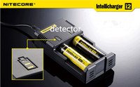 Wholesale Nitecore I2 Universal Charger for Battery E Cigarette in Intellicharger Rechargerable US AU EU UK plug