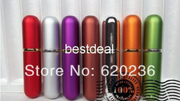 Wholesale Mini Refillable Atomizer Spray Perfume Bottles Size Random color factory price