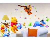 Graphic vinyl PVC Cartoon 2014 Promotion Seconds Kill for Wall Single-piece Package Decorate Baby And Kids Nursery Playing with Ball Wall Sticker Decal