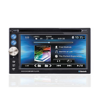 Wholesale KSD A inch Two din Universal Car dvd player with GPS Navigation IPOD Support Bluetooth Car Dual dvd player