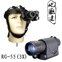 Wholesale Ronger Bering55 x5 X3 st Generation Night Vision Monocular Night vision binocular hot sale for hunting use