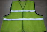 Wholesale Super ventilation safety clothing in summer good quality reflective vest Road cycling clothes Traffic safety warning waistcoat