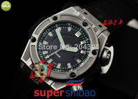 Sport Men's Diver Luxury Hot Brand New F1 Diver 4000m Automatic Mechanical Movement Mens Sport Watch Black Rubber Strap Men's Date WristWatches