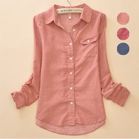 One Sleeve ladies fashion clothing - Spring New Women Blouses Ladies Blouses Lace Camisas Fashion Clothes Vintage Tops Female Clothing