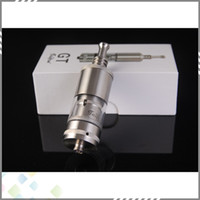 Replaceable 5 ml Metal 2014 Newest Rebuildable DIY Taifun GT Clone Atomizer E Cigarette Taifun Rba Tank Atomizer DHL Free