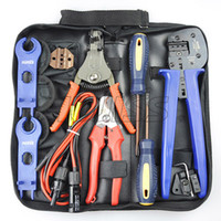 Wholesale FSPV MC3 MC4 Solar Crimping Tool Kit for Crimping mm2 Solar Connectors With Solar Test Line