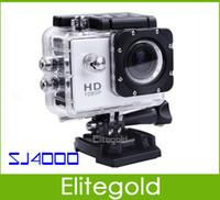 Wholesale SJ4000 Sport Video Camera Full HD p Waterproof Helmet Sport Camera DV Portable Professional Mini Digital HD Action Camera