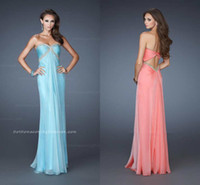 Reference Images Sweetheart Chiffon 2014 Cheap Aqua Sweetheart Full Length Formal Prom Dresses Applique Beaded Ruched Bodice Sheath Party Dress with Key Hole Back On Sale