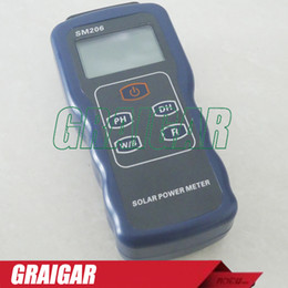 Wholesale Solar Power Meter SM206 for solar research and solar radiation measurement
