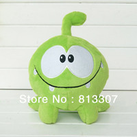 Unisex anime candy - Game CUT THE ROPE Candy Gulping Cute Plush Stuffed Toy Doll Children Gift cm Inch