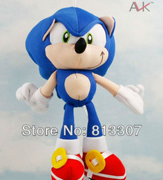Wholesale Sonic The Hedgehog Plush Toy Doll Key Chain the best gift for children high quality free shippiing