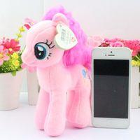 Wholesale Pink My Little Pony Plush Cartoon Quality Dolls Stuffed Toys Movie TV Stuffed Plush Animals cm