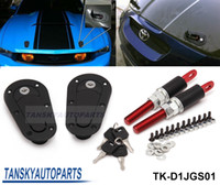 Wholesale Tansky D1 JDM Plus Flush Hood Latch and Pin Kit Racing Latch Locks Locking Hood Kit TK D1JGS01 TK D1 GENERATION01