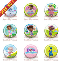 Wholesale High Quality Doc McStuffins Badges Kids badge cm mm set Cartoon button pin badge badge button gift kids collection