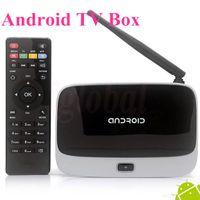 Wholesale 2G G HDMI Player CS918 Google Android TV Box Quad Core T R42 K R42 MK888 MK888B MK918 Bluetooth WiFi Android RK3188 Cortex A9 TV BOX