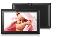Wholesale in stock Cheap Tablet PC A13 Q88 inch Capacitive Screen Android Camera Wifi GHz
