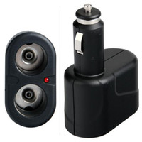 Wholesale DC V Way Socket Car Cigarette Power Adapter Lighter Splitter