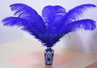 Wholesale New Arrive Colorful inch cm Ostrich Feather Plume Eiffel Tower centerpieces Home table decoration Wedding Decorations