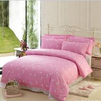 Wholesale 100 Cotton musical notes comforters duvet cover Bedding four set Retro bed linen music notes bedding queen size