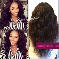 Wholesale Cheap Best Body Wave Full Lace Wig Front Lace Wig Glueless Lace Wig Swiss Lace Virgin Remy Human Hair by DHL