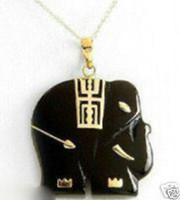 Cheap Asian & East Indian pendent necklace Best Unisex Alloy black jade