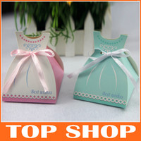 Continental Bowknot Lace Wedding Candy Box Laser Creative Fa...