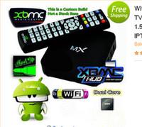 Wholesale XBMC GOTHAM Installed MX2 CS838 OS Android Smart TV BOX Dual Core MX Media Player Amlogic Cortex A9 GB GB E M6 D Movie Games p1
