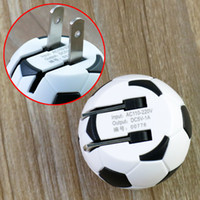 5V 1A Soccer Football Design USB AC Wall Travel US Charger P...