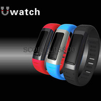 Wholesale Smart watch U9 U See Bluetooth Smart Wrist Waterproof Watch Phone Support WIFI Hotspots For iphone Samsung Sony HTC HUAWEI