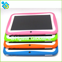 Wholesale New Kids Tablet GIFT TOY inch RK3026 Dual Core Android Tablet PC M GB Cortex A8 GHz with WiFi Kids Games Support Play Store