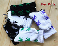 Unisex 6-12T Summer Kid's HUF Plantlife Double Layer Sole Terry Crew Socks 5Colors