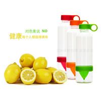 Wholesale 30OZ Cheap Red Green Orange Lemon Juice Cup Citrus Zinger Fruit Infuser Bottle RY1471