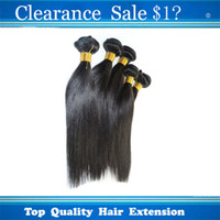 Peruvian Hair Straight Brazilian Peruvian IndianMalaysian Hair Clearance Sale!!! 100% Unprocessed Brazilian Indian Peruvian Malaysian Silky Straight Hair Extensions 2pcs lot Dyed Bleached Free Shipping