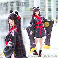 Wholesale 2014 New Ore No Imouto Ga Konna Ni Kawaii Kimono Cosplay Costume Cos Cartoon