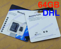 TF / Micro SD Card 64GB 100 NEW 64GB Micro SD Card 64gb Micro SD Class 10 SDHC TF card for Samsung Galaxy S5 i9600 PA1610 and huawei lenovo zte xiaomi Smartphon 100pcs