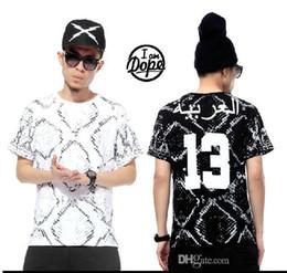 Wholesale Hot sale Fashion Arab boa serpentine Hip hop Cultivate one s morality digital movement skateboard short sleeves T shirt Pyrex