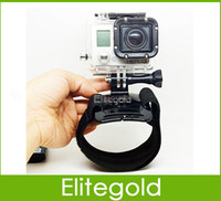 Wholesale Gopro Accessories Camera Wrist Strap Holder Mount Degree Rotation For GoPro Hero Plus DHL Promotion