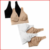 Breastforms&Enhancers Nylon Normal 6 Colors Seamless Sport Bra Fashion Sexy Body Shaper Bra Yoga Bra Top Quality