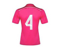 Sergio Ramos #4 Football Shirt Jersey Soccer Tops, 14- 15 Seas...