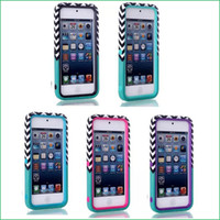 Wholesale 500 HARD amp SOFT RUBBER HIGH IMPACT ARMOR CASE HYBRID COVER for iPod Touch th Gen
