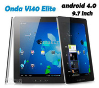 Wholesale Final Clear out Android Onda VI40 Elite GB Tablet PC quot IPS Screen A10 GHz GB GB DHL Free