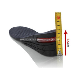 Wholesale S5Q Men Shoe Insole Layer Air Cushion Heel Insert Increase Taller Height Lift AAADMH
