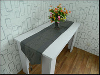 Wholesale Factory Supply Paillette Table runner cm Grey Decorative Table Cloth