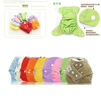 Diaper Covers baby diaper pants - Nano antibacterial Baby Cloth Diaper Washable Reusable Adjustable size Baby Diaper Pants Diaper Covers Nappy Urine Pants Variety colors